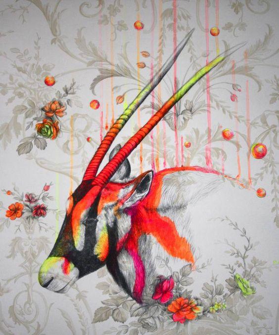 "Saatchi Art Artist Louise McNaught; Painting, ""Wild environment 2#"" #art"