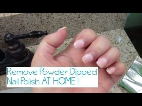 How To Remove Dip Powder Nails In 2020 Dipped Nails Powder Nails Dip Powder Nails