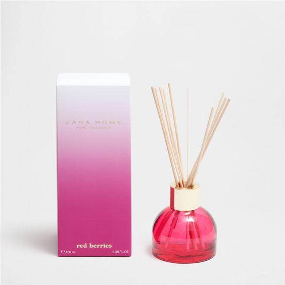 DIFFUSEUR D'AMBIANCE EN STICKS RED BERRIES (100 ML) - Red Berries - Parfum…