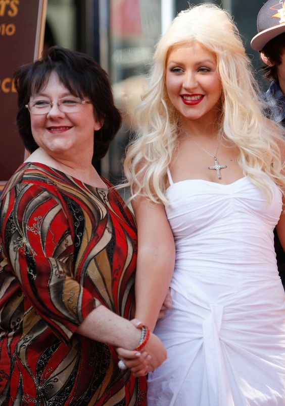 Christina Aguilera et sa mère