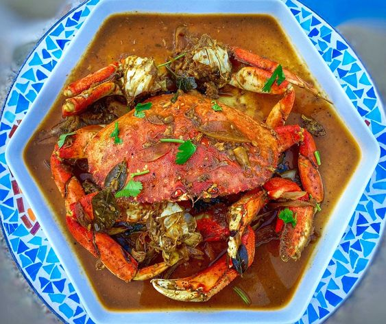 The Spices Of Life . . .: Cua Xào Me (Dungeness Crab Sautéed in Tamarind Sauce)