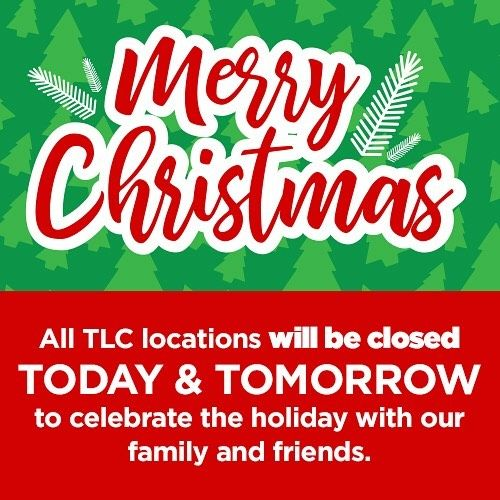 Merry Christmas! All TLC Garden Center locations will be closed ...