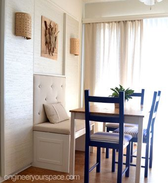 Dining Room Makeovers Diy Wall And Room Makeovers On Pinterest