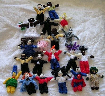 Free Knitting Pattern - Toys, Dolls & Stuff Animals ...