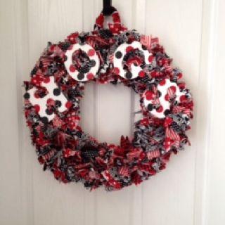 Razorback Door Wreath: