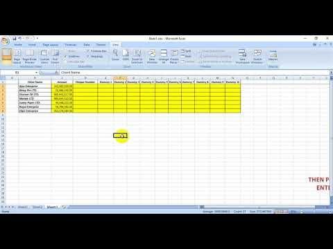 Ms Excel Tutorials How To Freeze Panes In Ms Excel How To Freeze Row In 2020 Excel Tutorials Tutorial Excel