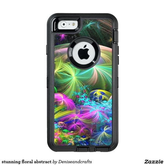 stunning floral abstract OtterBox iPhone 6/6s case