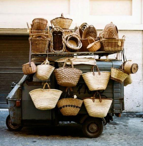 French Wicker Baskets