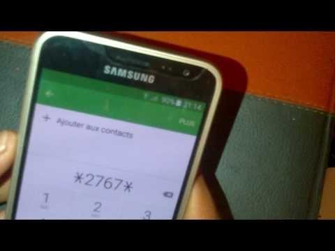 فورمات الجهاز طريقة سهلة وسريعة Code Formatage Youtube Samsung Galaxy Phone Galaxy Phone Samsung Galaxy