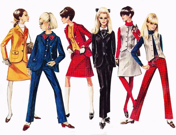 The ultimate mod wardrobe in Simplicity Patterns,... - Vintage Fashion and Beauty