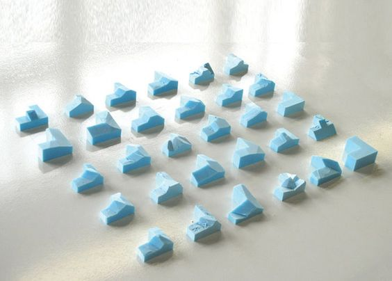 Blue Foam Study Models