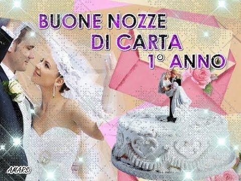 Buon Anniversario Nozze Di Carta 1 Anno Di Matrimonio Auguri Sposi Primo Anniversario Di Matrimonio Anniversario Di Matrimonio Buon Anniversario
