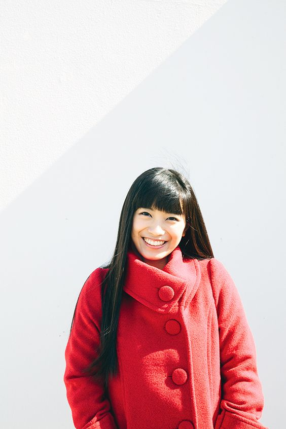 にっこりと微笑むmiwa