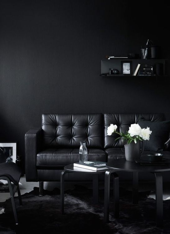 How To Use Black Paint In Your Home According To The Experts