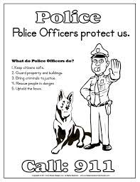 Police Kids Worksheet Google Search Fitc Pinterest