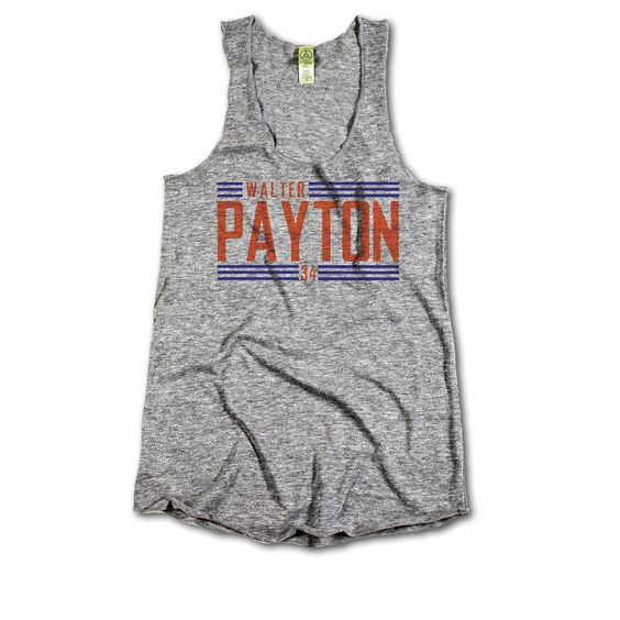 Walter Payton Big Orange Font