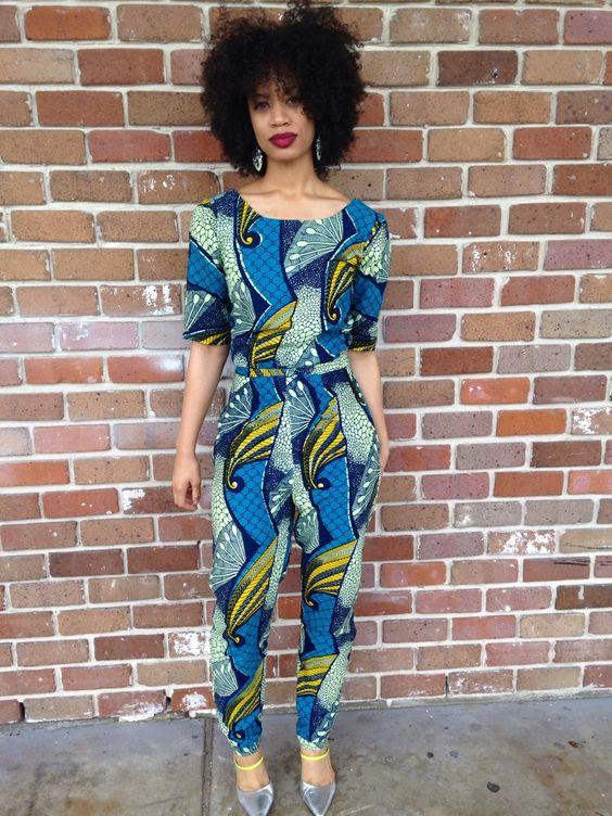 Fashion Jumpsuits And Ankara On Pinterest