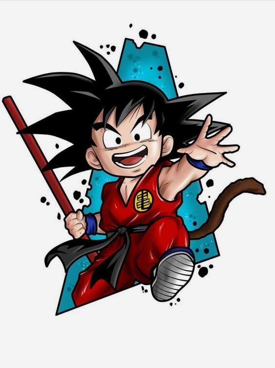 Pin De Kawthar Alizadeh En Dibujos Kawaii Imagenes De Goku Nino Dibujo De Goku Tatuaje De Comic