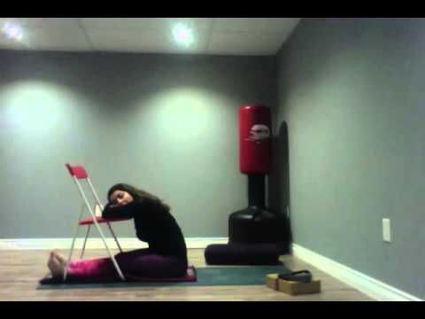 Chair Yoga- Supported Seated Forward Fold