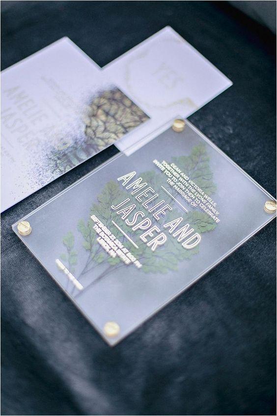 Wedding Wednesday: Urban Emerald & Fern Wedding Inspiration: