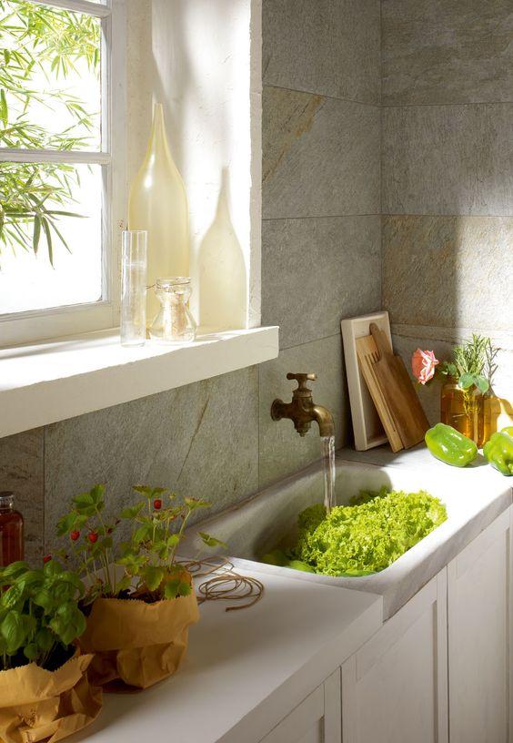 Piastrelle Cucina: idee e soluzioni in ceramica e gres  - Marazzi 3924