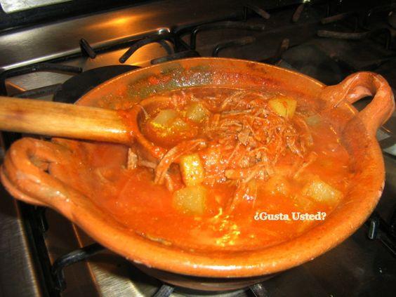 Pork deshebrada recipe