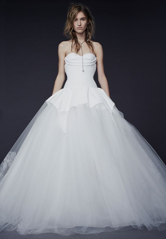 Vera Wang Fall 2015 Bridal Collection