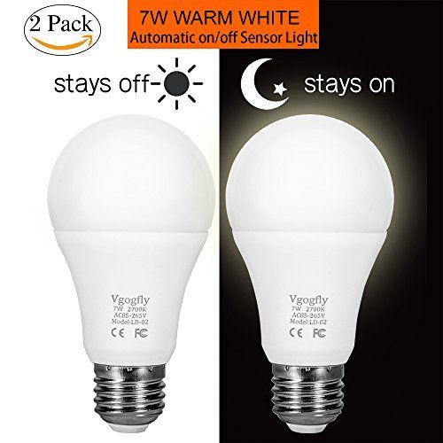 Sensor Lights Bulb Dusk To Dawn Led Light Bulbs Smart Lig Led Light Bulbs Light Sensor Smart Light Bulbs