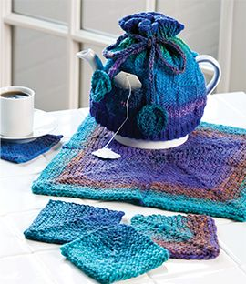 Tea-Time Trio, part of Creative Knitting's FREE Pattern of the Month. Get the download here: http://www.creativeknittingmagazine.com/monthly_project.php?project_code=K&fcebkck: