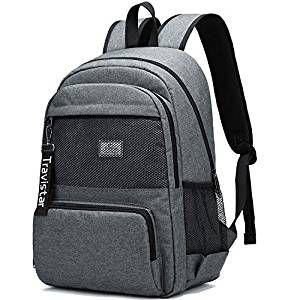 Unisex Freizeit Rucksack Sport Backpack Reise Wandern Arbeit Schulrucksack Black