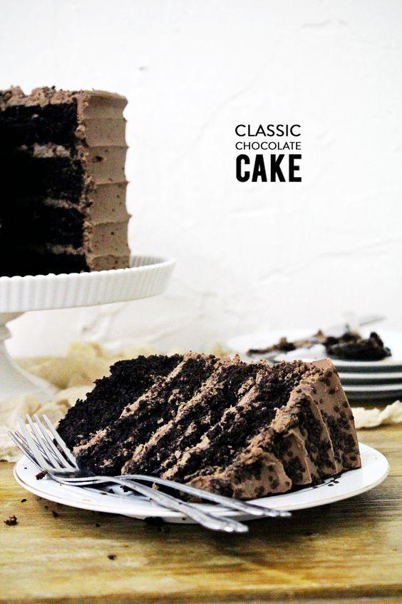 Classic Chocolate Layer Cake Recipe Chocolate Layer Cakes