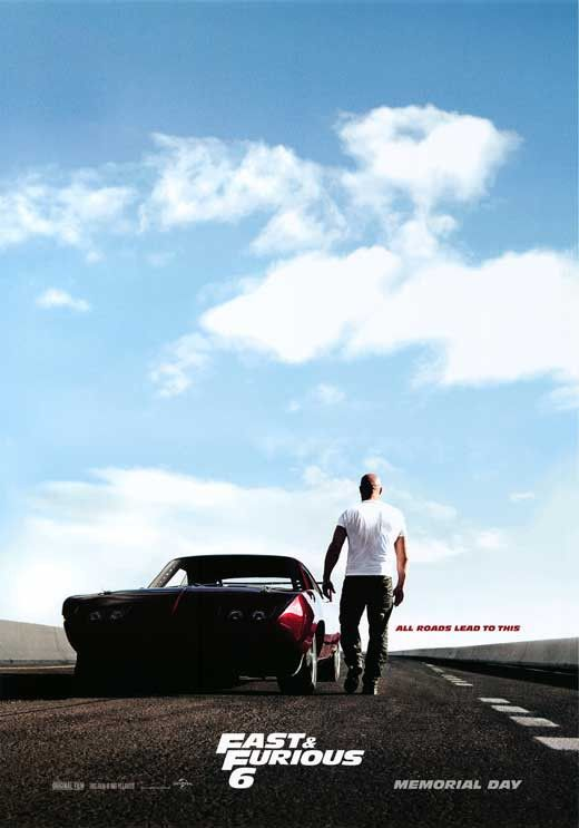 Fast Furious 6 27x40 Movie Poster 2013 Fast And Furious Movie Trailers Furious Movie
