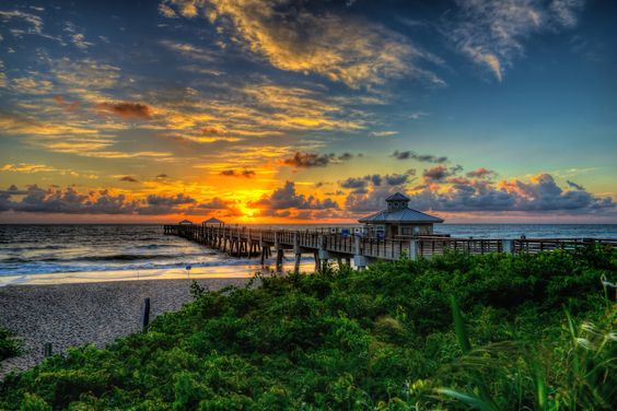 Juno Beach Pier Sunrise 9_19