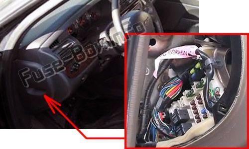 Chrysler Sebring St 22 Jr 2001 2006 Fuse Box Location Chrysler Sebring Chrysler Fuse Box
