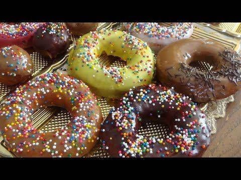 طريقة عمل دونات بالشكولاتة زاكي Donut Recipes Krispy Kreme Donut Recipe Chicken Comfort