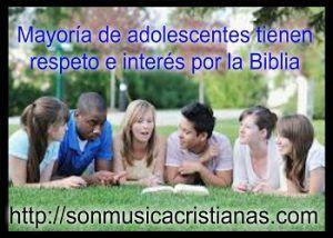 Mayoría de adolescentes tienen respeto e interés por la Biblia – Noticias…