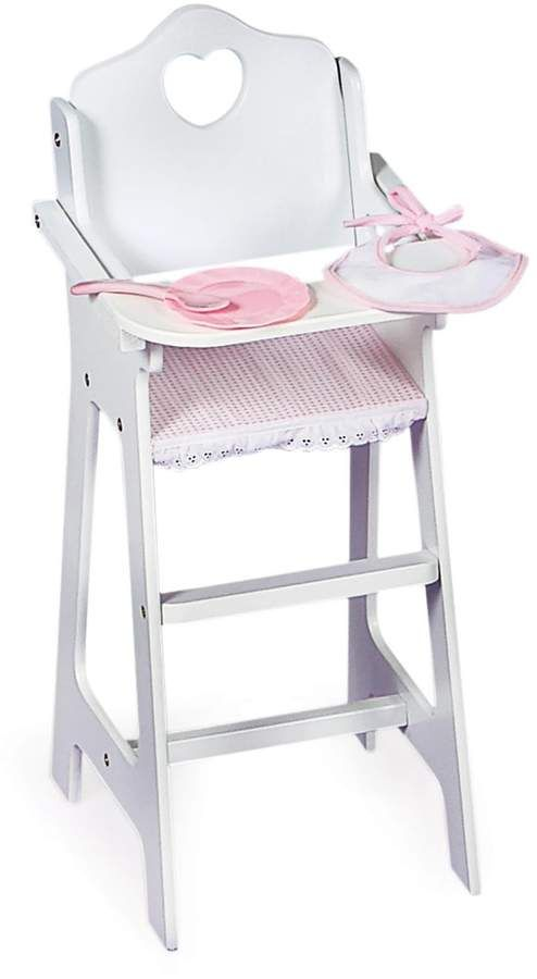 Badger Basket Doll High Chair Set Doll High Chair Baby Doll Furniture Badger Basket