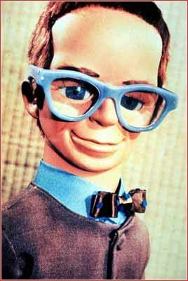Brains from Thunderbirds. I loved watching Thunderbirds as a child. May Gerry Anderson who was the creator of Thunderbirds Rest in Peace. Thankyou Mr Anderson for many hours of joy as I watched your show when I was a child.