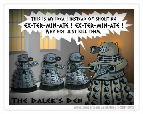 TARDIS Newsroom - Doctor Who News: The Daily Dalek - Day 182.5: The Daleks' Den