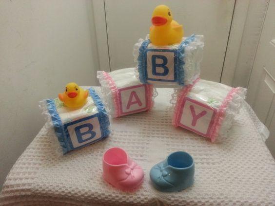 Alphabet baby block diaper cake pinterest put together cakes and diaper cakes - Putting together stylish kitchen abcs ...