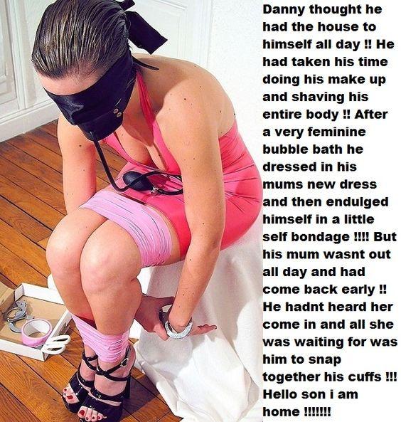 Female self bondage