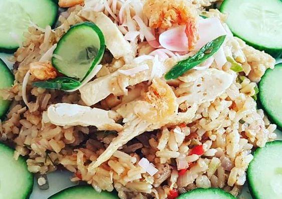 Resep Nasi Goreng Kecombrang Honje Oleh Yovita Aridita Resep Resep Masakan Indonesia Resep Masakan Resep Makanan
