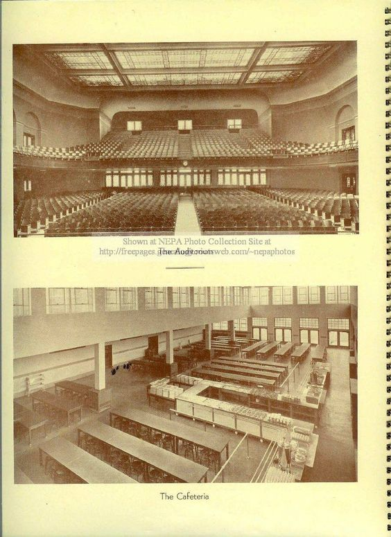 Meyers High school auditorium and cafeteria | ~*WILKES ...