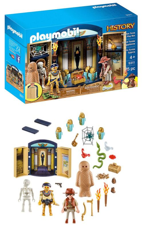 Playmobil 19854 Playmobil History Egyptian Tomb Play Box 9311 For Kids 4 And Up Buy It Now Only 23 28 On Ebay Playmobil H Egyptian Playmobil History