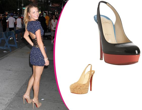 Blake-Lively-in-Christian-Louboutin4 [CELE023] - $199.00 : Discounted Christian Louboutin,Jimmy Choo,Valentino Shoes Online store