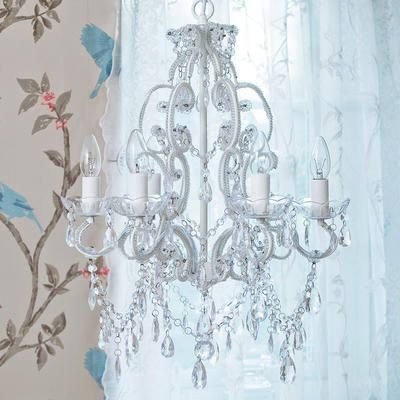 Princess Crystal Chandelier from The French Bedroom Company