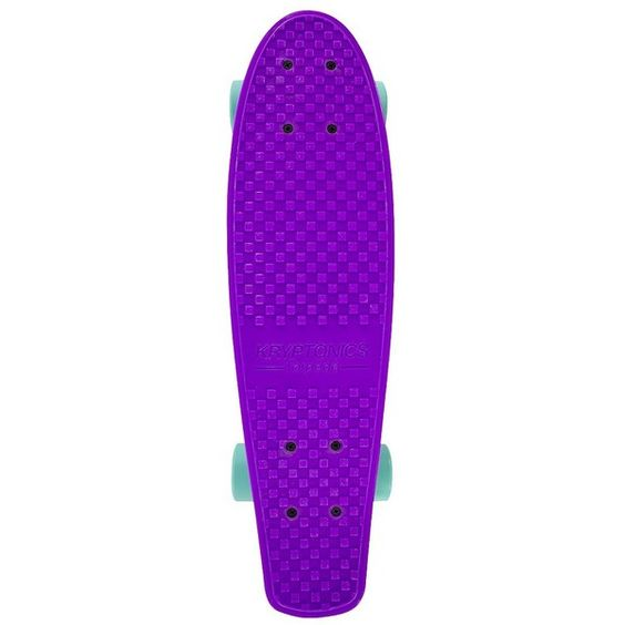 """Kryptonics Torpedo Plastic Complete Skateboard (22.5"""" X 6"""") ($40) ❤ liked on Polyvore featuring skateboards, skate, accessories, other e boards"""