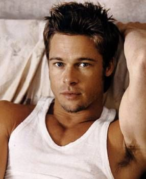 Brad Pitt...this picture hung on my wall in freshman dorms!