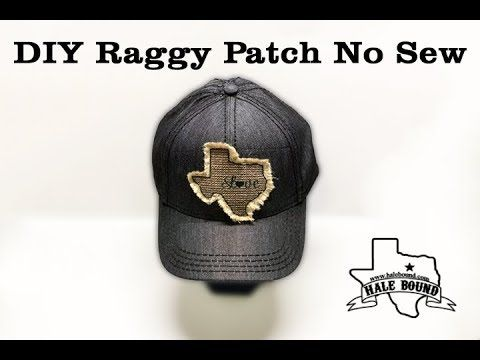 Sublimation Raggy Patch No Sew Method Youtube Hat Patches Diy Patches Cute Sewing Projects