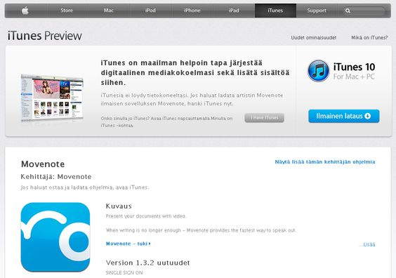 Movenote is now available for the iPhone and iPad. Get your free app from the Apple App Store.